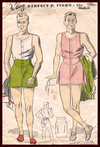 girly man pattern
