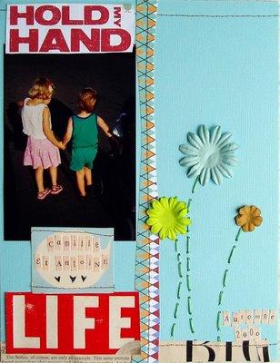 Sylvie hold my hand