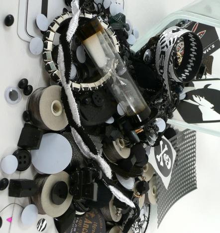 black kit spilled