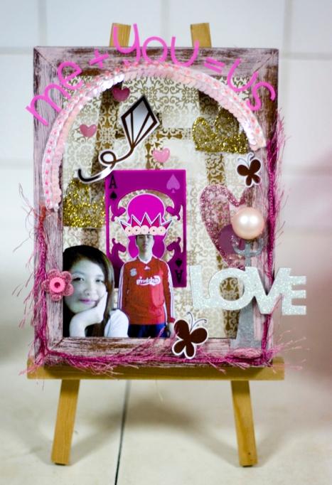 merdrey pink frame
