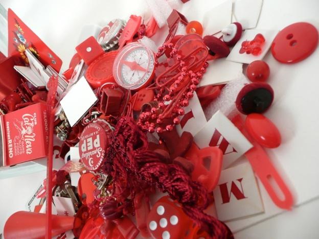 red kit spilled