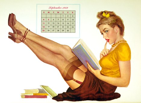 teacher pin-up