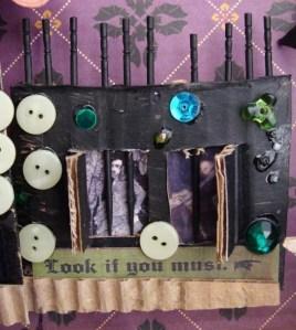 nina halloween shadowbox close-up 2